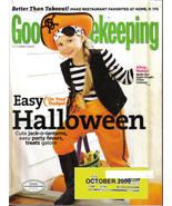 GOOD HOUSEKEEPING-OCTOBER 2009-EASY HALLOWEEN - $5.99