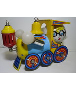 Speedie 13 Train Swag Lamp Lithographed Tin by Kenroy - Vintage - $69.30