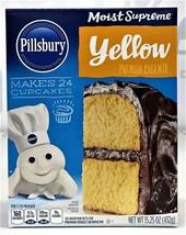 Pillsbury Moist Supreme Classic Yellow Cake Mix 15.25 oz - $4.00