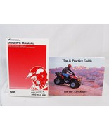 Honda TRX350FE Fourtrax ATV 350 4x4 ES Owners Manual & Practice Guide 2 ... - $16.82