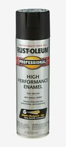RUST-OLEUM Professional FLAT BLACK 15 oz. Spray High Performance Enamel 7578-838 - $8.99