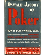 oswald jacoy on poker book how to play a winning game gin rummy contact ... - $14.99
