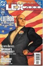 Superman: Lex 2000 Comic Book #1 DC Comics 2001 NEAR MINT NEW UNREAD - $4.50