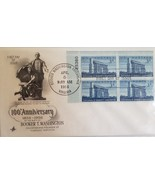 First Day Issue 100th Anniversay of Booker T Washington Apr 5 1956 - $4.95