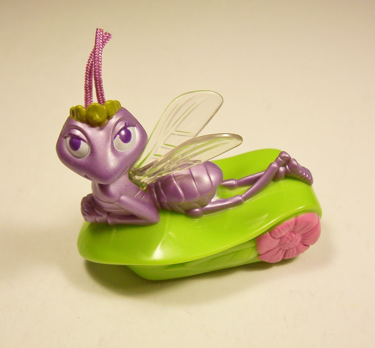 Primary image for Disney A Bug's Life Princess Atta #8 Grasshopper Pull Back McDonalds 1988