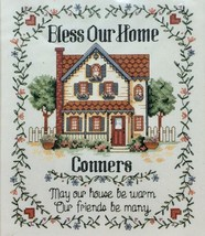 Sunset Bless Our Home Counted Cross Stitch Kit Housewarming Gift 13588 V... - $19.30
