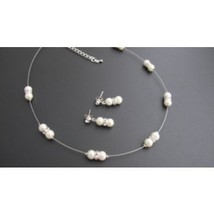 Ivory Pearl With Glistening Rhinestones Perfect for Brides Or Bridesmaids  - $14.00