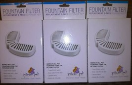 Pioneer Pet Fountain Filters #3002 lot of eight (8) filters open box - $27.49