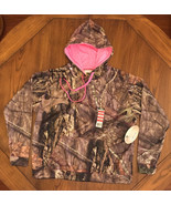 Mossy Oak Break Up Country Camo Ladies Pullover Hoodie size Large - $20.31