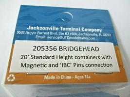 Jacksonville Terminal Company # 205356 Bridgehead 20' Standard Container (N image 2
