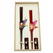 *Soldiers Saemon couple chopsticks set (KibakoIri) Hexagon chopsticks 104504 - $43.35