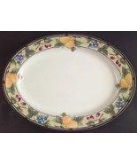"Mikasa Garden Harvest 15"" Oval Serving Platter, Fine China Dinnerware - $123.75"