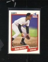 ROBIN VENTURA CHICAGO WHITE SOX MLB BASEBALL FLEER TRADING CARD 1990 #550 - $13.45