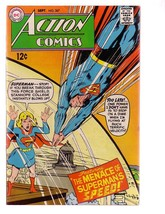ACTION COMICS #367 1968-SUPERMAN-DC COMICS-SUPERGIRL FN - $37.83