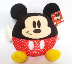 "Disney Kcare Mickey Mouse 15"" Plush Round Stuffed Animal Ball Love Heart... - $28.87"