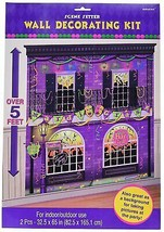 Mardi Gras Party Scene Setters Wall Decorating Kit - $9.11
