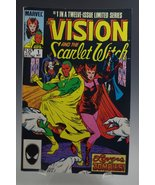 THE VISION AND THE SCARLET WITCH #1 MARVEL COMICS BOOK 1985 [Paperback] ... - $15.95