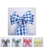 5 PCS Polyester Chair Sash Bowtie Wedding Chair Bands for Decoration TkV... - $39.60