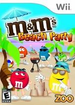 M&M's Beach Party - Nintendo Wii [Nintendo Wii] - $9.89