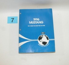 1996 Ford Mustang Factory Service Manual Good Used Condition 7 - $59.35