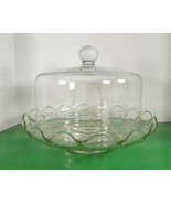 Princess House HERITAGE Pedestal Cake Plate Stand and Dome - $96.97