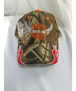 Harley-Davidson Jesus Is Lord Baseball Cap - Camo - $12.82