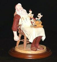 Days to Remember - Norman Rockwell Santa with Helpers Figurine AA19-1648 Vintag image 4