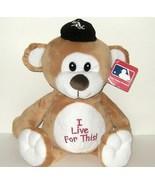 1/2 Price! Chicago White Sox I Live for This Plush Bear MLB NWT - $4.00
