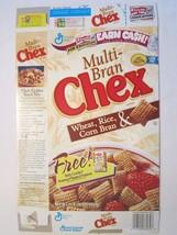 Empty General Mills Cereal Box 1999 MULTI-BRAN Chex 16 Oz - $15.15