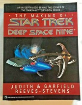 Vintage The Making of Star Trek Deep Space Nine DS9 Paperback 1994 Pocke... - $12.55