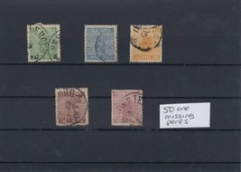 Sweden 1858 Used Stamps CAT £200 Ref: R4460 - $39.92