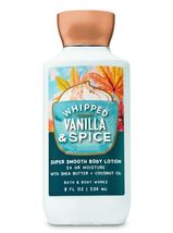 4 Piece Bath & Body Works Whipped Vanilla & Spice Body Lotion & Fragrance Mist image 3