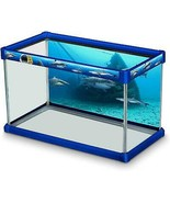 Elive Decorative Fish Tank Aquarium Kit Dangerous Waters Sharks 10Gal Ba... - $39.99