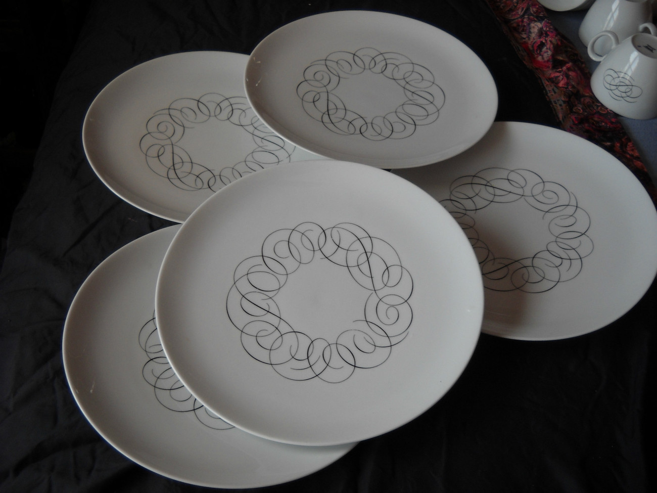 Rosenthal (Thomas) Script dinner plates - SCRIPT(5 available) : rosenthal thomas dinnerware - pezcame.com