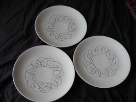Rosenthal (Thomas) china salad plates - SCRIPT (3  available) - $19.99