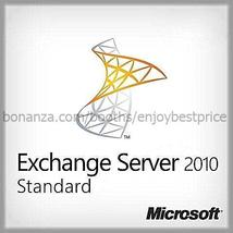 Microsoft Exchange Server 2010 Standard 64bit  with Unlimited user Cals - $23.00