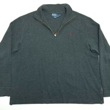 Polo Ralph Lauren Pullover Sweater - 1/4 Zip - XL - Gray - XL - $29.70