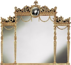 Wall Mirror DAVID MICHAEL REFLECTIONS New Hand-Carved Frame - $7,709.00