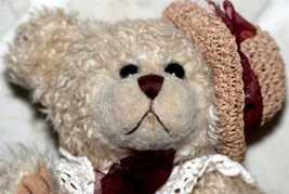 Vintage Geppeddo Teddy Bear Crocheted Hat Collar - $5.00