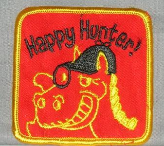 Embroidered Patch Happy Hunter Patch