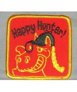 Embroidered Patch Happy Hunter Patch - $3.95