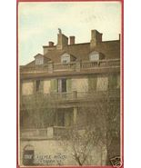 ALEXANDRIA VA Carlyle House Virginia 1918 Postcard BJs - $6.50