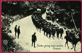 FRANCE YANKS Troups Army Chicago Daily News War PC - $7.50