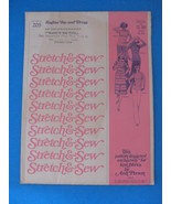 Stretch & Sew Raglan Top and Dress 205 Pattern Sizes from 28 - $4.95