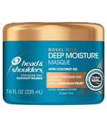 Head & Shoulders Royal Oils Deep Moisture Masque Dandruff Scalp Relief 7... - $9.89