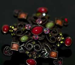 Dsc 2087 multi gem star flower brooch thumb200