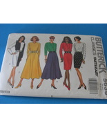 Butterick Fast & Easy #5638 Pattern Sizes 18 20 and 22 - $4.95