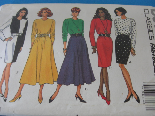 Butterick Fast & Easy #5638 Pattern Sizes 18 20 and 22