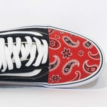 Vans Low top Custom 'Red Bandanas'  Available in all sizes for Men, Wome... - $175.00