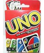 UNO Card Game with Three Customizable Wild Cards!!! FREE SHIPPING!!! - $8.60